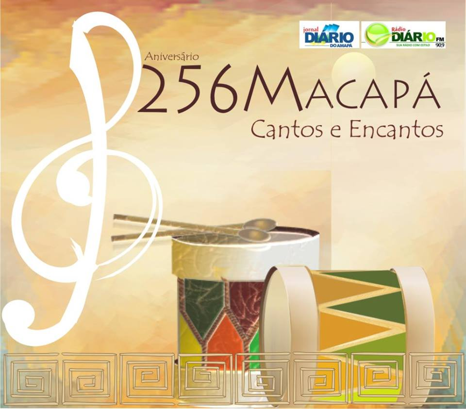 Capa do Cd 256 Anos de Macapá