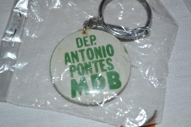 Antonio Pontes, do antigo MDB, hoje PMDB