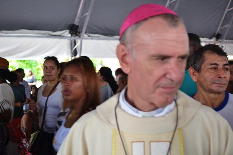 Bispo de Macapá, Dom Pedro Conti, lembrou que é preciso recuperar a cúpula da nova catedral