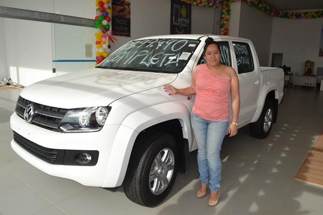 Moradora de Laranjal do Jari, Márcia vai comprar o carro e emplacar o carro em Macapá, mas ele vai rodar em Laranjal do Jari