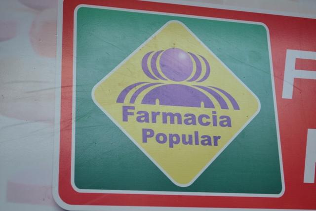 Farmácia Popular é um programa do governo federal