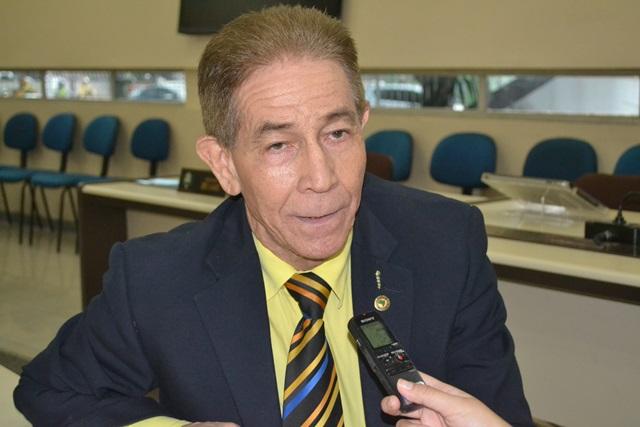 Presidente da Alap, Jaci Amanajás: silêncio sobre exonerações. Fotos: Cássia Lima