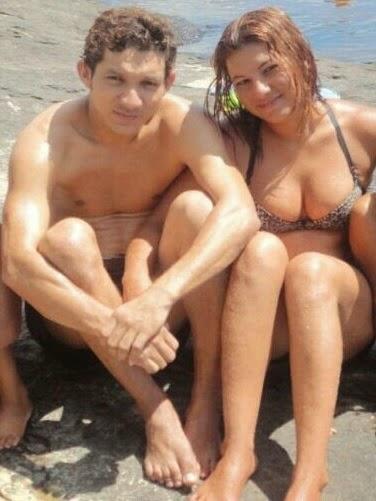 José Júnior e Rubiene, que foi presa por ser apontada como coautora de assalto