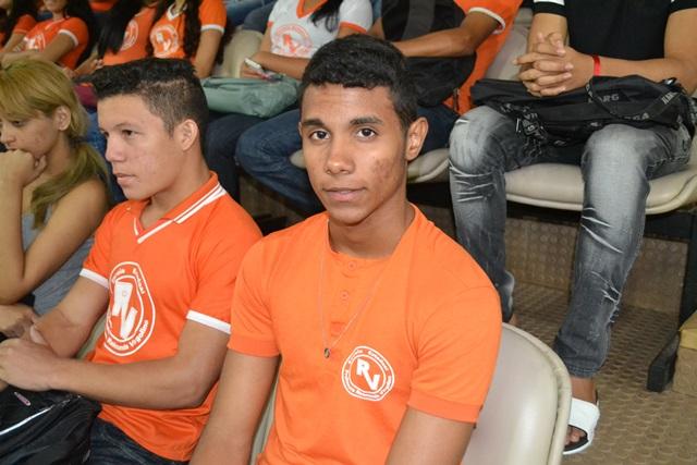 Lucas Walas da Silva Souza, futuro candidato do curso de medicina
