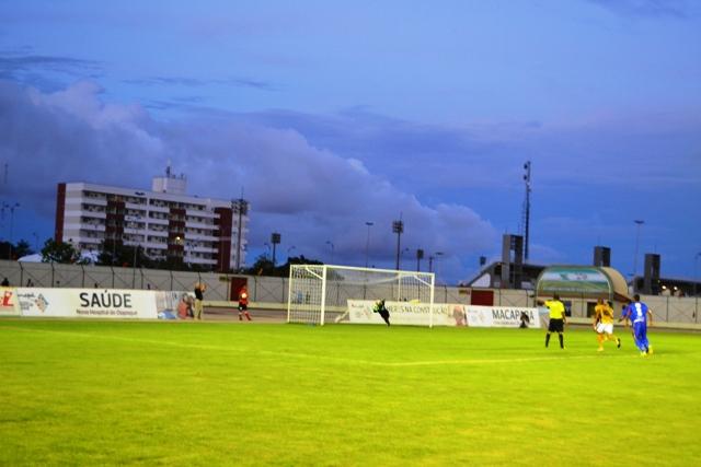 Momento do gol do Santos
