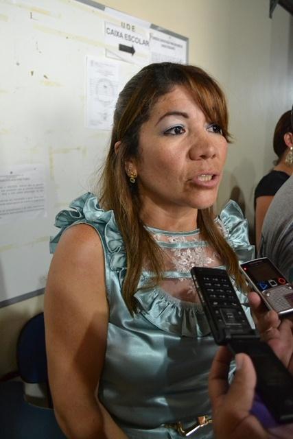 Presidente da UDE, Enilza Silva