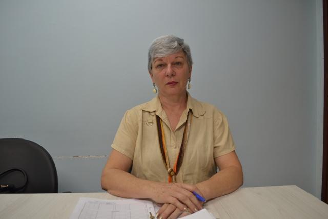 secretária de Educação em exercício, Lúcia Furlan