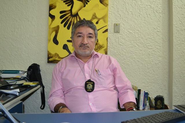 Geólogo do DNPM, Marcos  Palheta