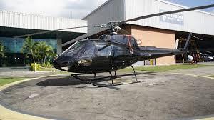 Modelo do helicóptero objeto da licitação que os procuradores querem anulada