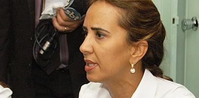 Marília Góes, principal voz da oposição ao governo