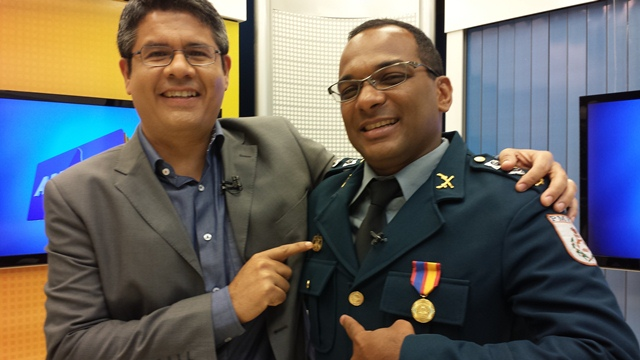 "Major André, o verdadeiro ""Major Matias""."