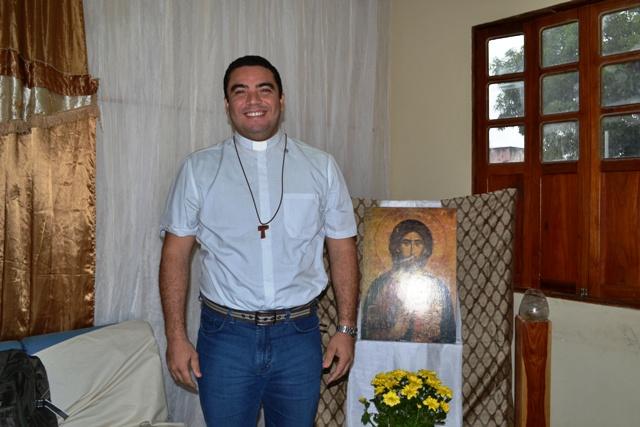 Michel Bow- Ctaif - missionário da comunidade Shalom Fortaleza