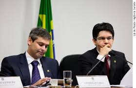 Randolfe Rodrigues presidindo a CPI do Ecad