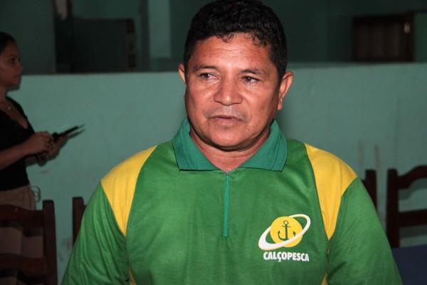 Arnaldo da Silva, presidente da Cooperativa de Pesca de Calçoene: redução da oferta