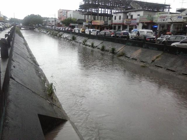 Canal da Mendonça Júnior pode transbordar