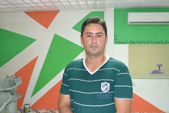 """emerson Silva, coordenador de tratamento penal do Iapen: """"O mais importante é que ele terão uma profissão"""""""