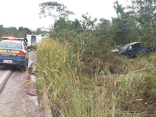 Polícia Rodoviária Federal deu os primeiros socorros antes de chamar o Samu