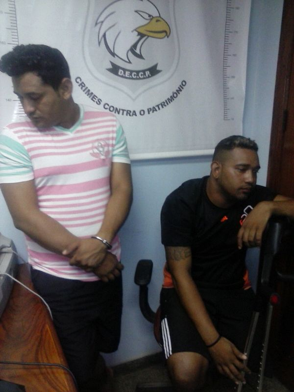 Suspeitos presos na DCCP