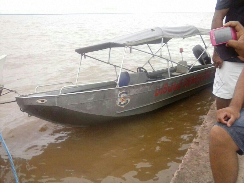 Barcos que trouxe todos os presos para Macapá