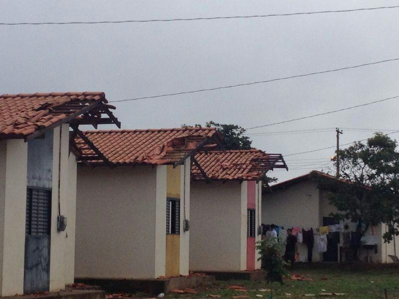 No conjunto Mestre Oscar pelo menos 41 casas foram afetadas
