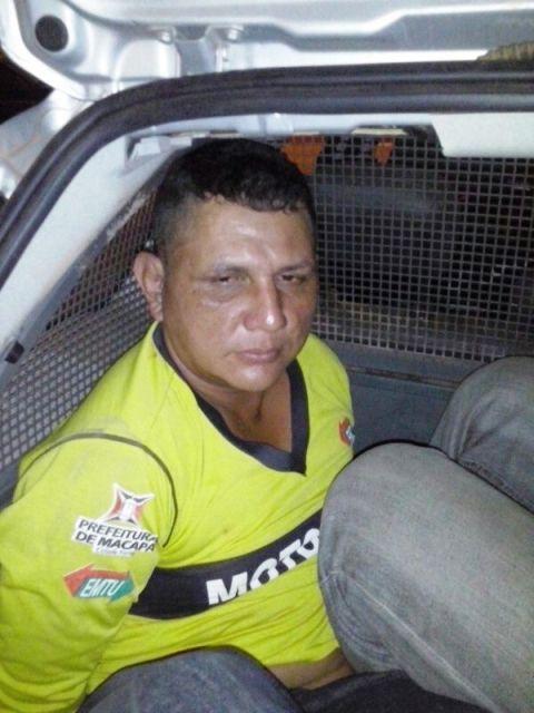 Wellington Farias, usava uma roupa de mototaxista clandestino