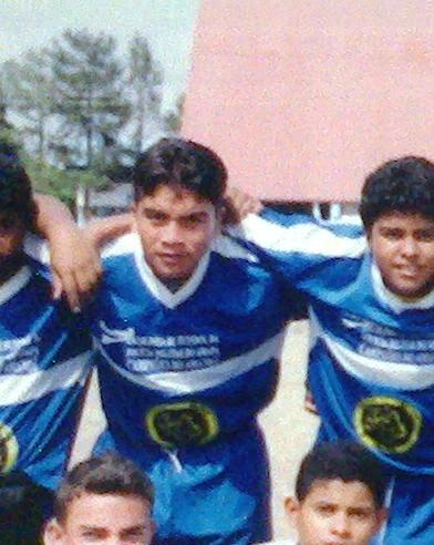 Quando tentava ser jogador de futebol