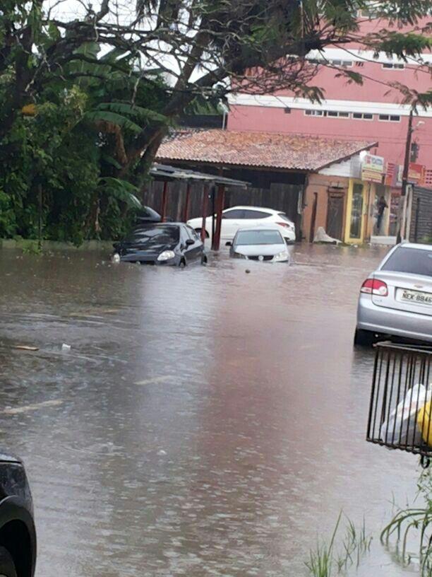 Avenida Coaracy Nunes, Centro
