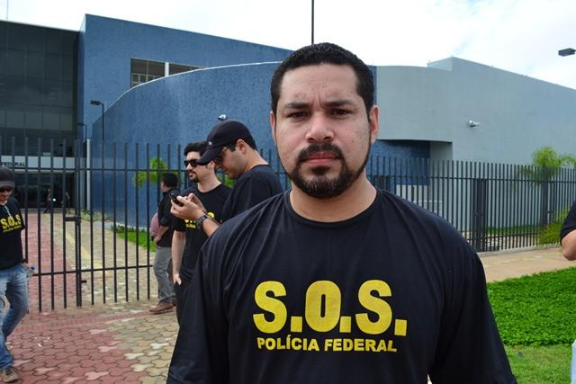 Jorielson Nascimento, diretor do Sindicato dos Policiais Federais do Amapá