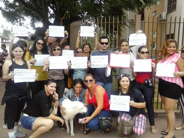 Manifestação de entidades de defesa dos direitos dos animais