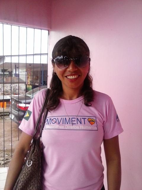 Rosinete Salomão, presidente da Associação de Mulheres Escalpeladas: troca de experiências