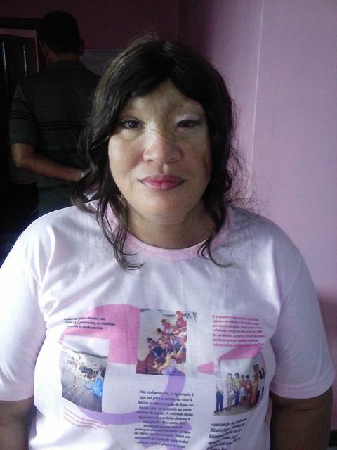 """Socorro Damasceno, fundadora da associação: """"nos julgam pela aparência"""""""