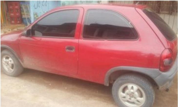 Carro usado por Jairo Braga, morto pelo Bope