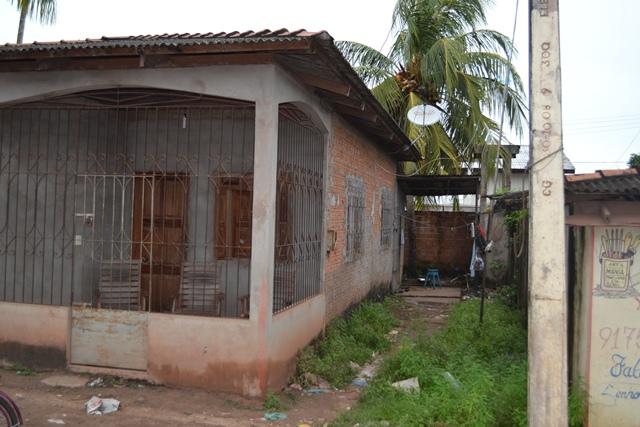 Casa no Cidade Nova onde Jairo morava