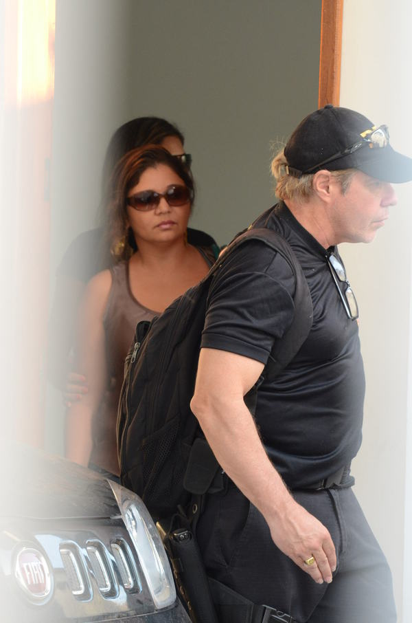 Euricélia Cardoso chegou a ficar 5 dias presas na Polícia Federal durante as investigações