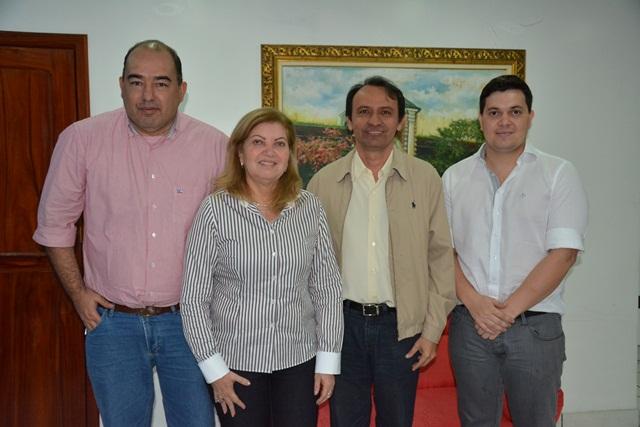 Alan, Francisca, Jorge e Acácio: possível reedição de 2010