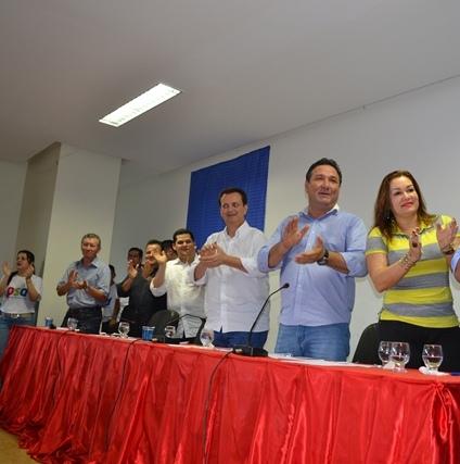 Em 2014, na pré-campanha pelo PSD. Foto: Arquivo/SELESNAFES.COM