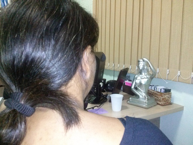 Logo após a decretação da prisão, Aurivane deu entrevista exclusiva para o site