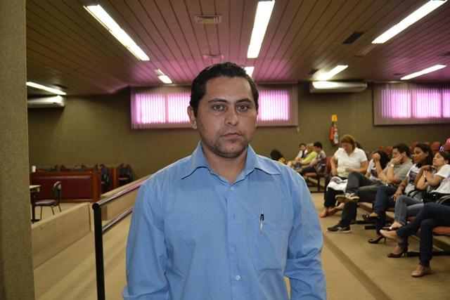 Advogado Antonio Soares, que defende um dos réus acusado de recepção, pediu desmembramento do julgamento