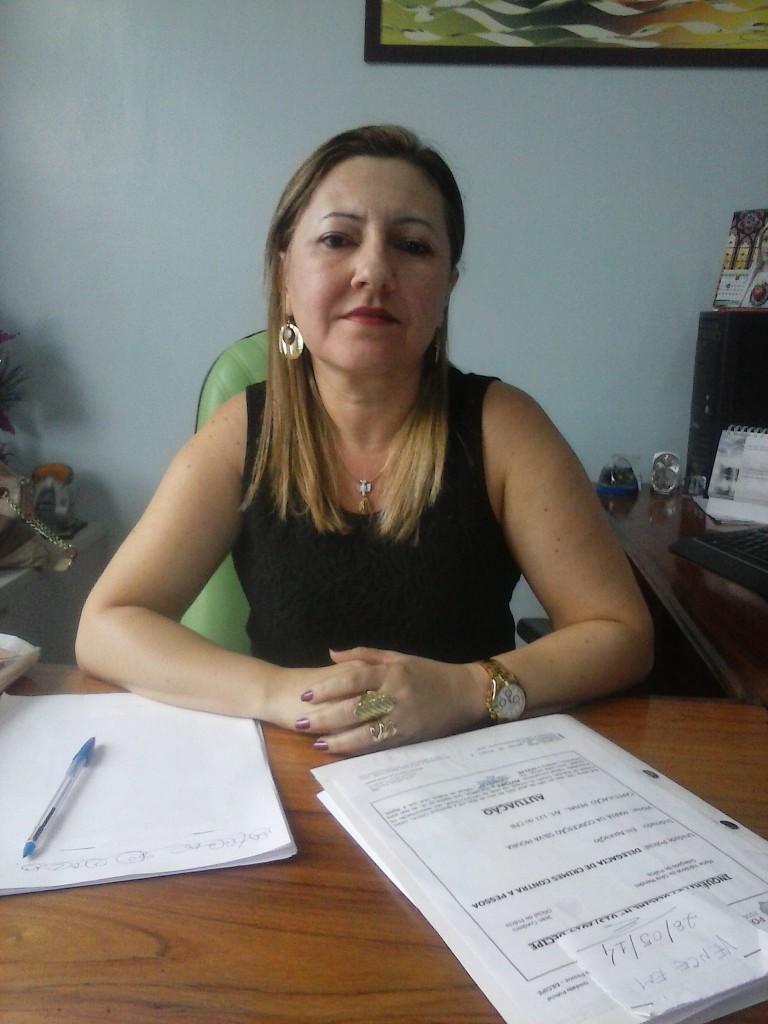 Delegada Valcilene Mendes