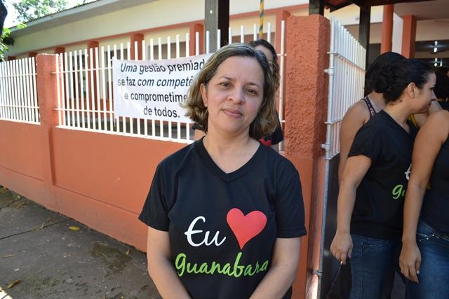 """Diretora da Escola Guanabara, Luciana Machado: """"dificuldades de aprendizado que não foram acompanhadas pelos pais"""""""