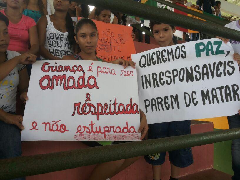 Um dos casos de violência foi o estupro de uma criança de apenas 10 anos.