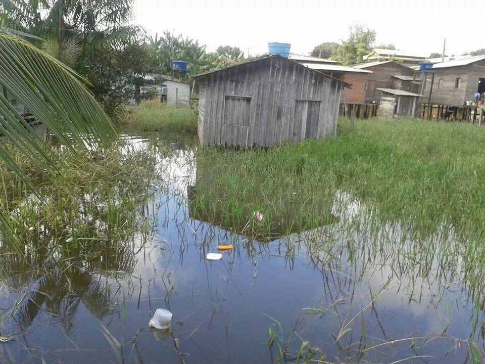 Cai N'Água, Balneário e Caezinha foram afetados