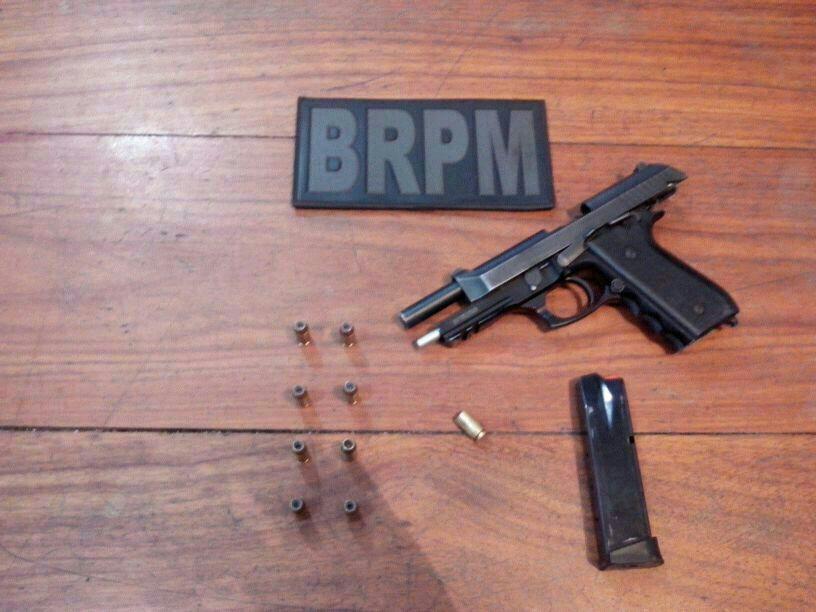 Pistola que pertenceria ao Iapen