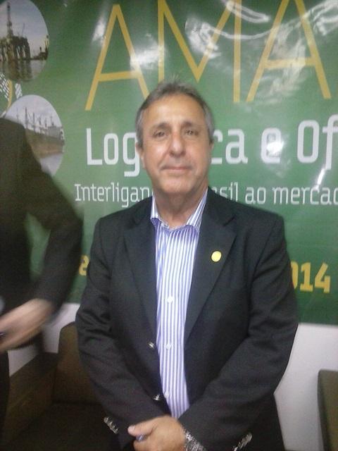 """Secretário Nacional de Portos, José Nilton Gama: """"Santana é excelente para a logística de ligação brasileira, principalmente com o Canal do Panamá"""""""