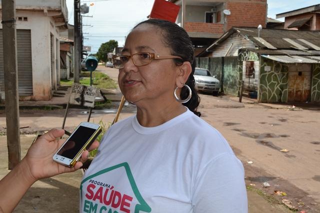 Marluce Chermon, da Vigilância Epidemiológica disse que os casos de uma única rua serão investigados