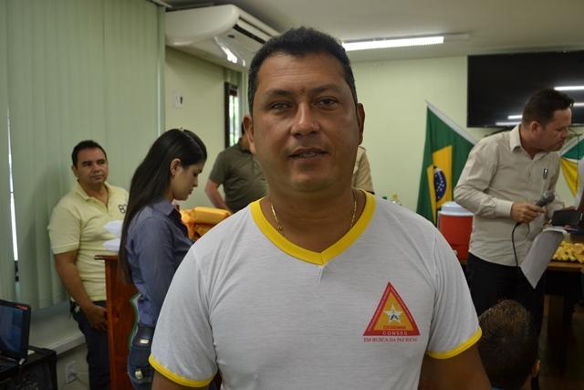 Líder comunitário Micherlon Mendonça diz que é preciso envolvimento da comunidade