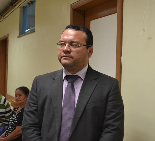 Presidente da OAB, Paulo Campelo, durante a inspeção