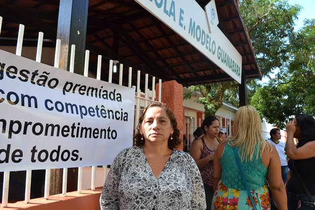 """Professora Alzamira Carvalho: """"sempre pedimos para os pais trazerem o menino para o reforço, mas nunca vieram"""""""