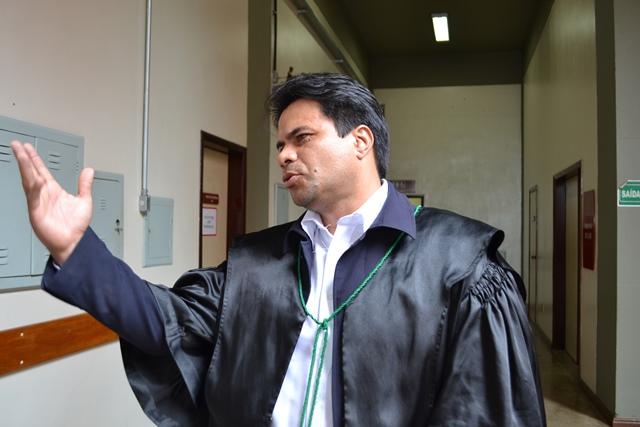 Advogado do réu, Sandro Modesto: provas ilícitas