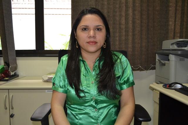Suellen Gemaque, diretora do TRE